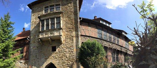Rinteln, Германия: Schöne Burg, schöne Aussicht, auch aus dem begehbaren Turm (50 Cent)