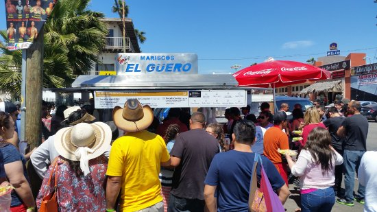Mariscos El Guero: its always jam packed but its worth the short wait