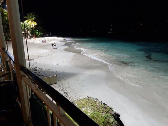 Auberge de la Vieille Tour: Strand vor der Ciel et Mere mit Fluticht