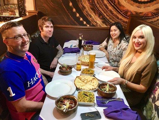 Heywood, UK: Family get together