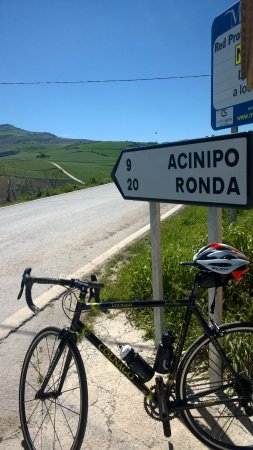 Andalucian Cycling Experience Day Trips: my Colnago Lux Titano enjoying the days, the miles and the views!