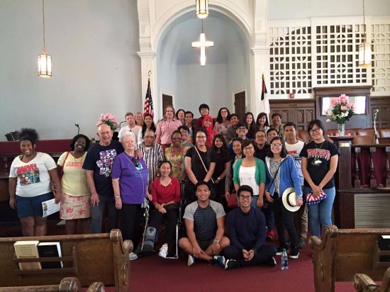 Ebenezer Baptist Church of Atlanta: Field trip with fellows