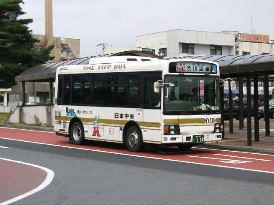 いろんなバスが走っています