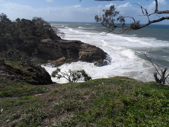 North Gorge Walk: The power of the ocean