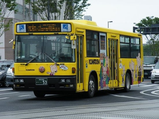 熊本電気鉄道 - バス