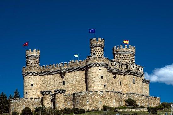 Manzanares el Real, Spain: Mendoza Castle by Vladimir Popov