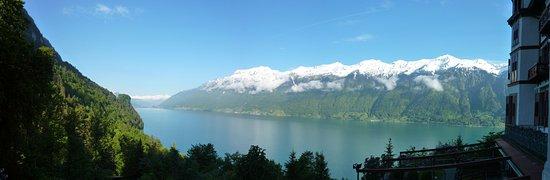 Grandhotel Giessbach: Superbe vue lac et cascades