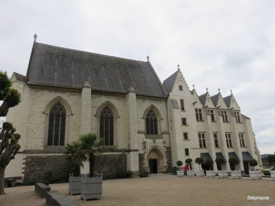 Castle of Angers: divers