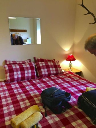 Knoydart, UK: Comfy bed