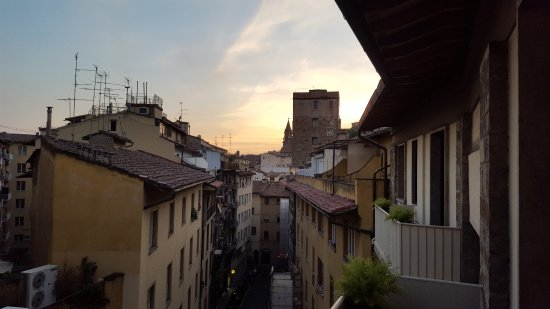 Pitti Palace al Ponte Vecchio: View from room 515