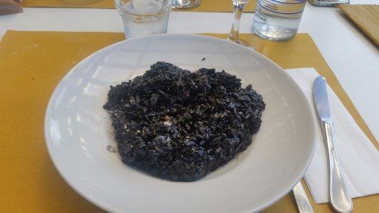 """Calambrone, Italien: Riso """"nero nero"""""""