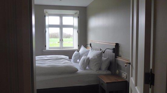 Neuenkirchen, Almanya: Blick in eines der beiden Schlafzimmer