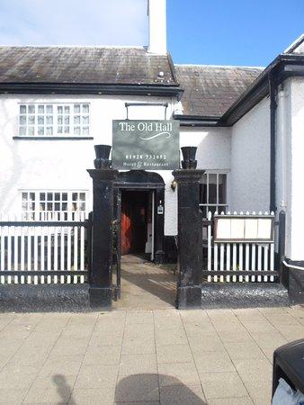 Frodsham, UK: Entrance