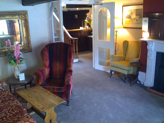 The Old Hall Hotel: Entance Hall