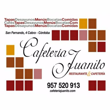 Cabra, Spanien: Cafetería Juanito