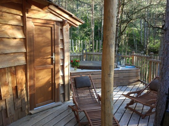 Serres, Francia: Les Cabanes du Pas de la Louve
