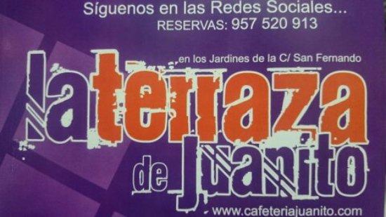 Cabra, Spanien: La Terraza de Juanito