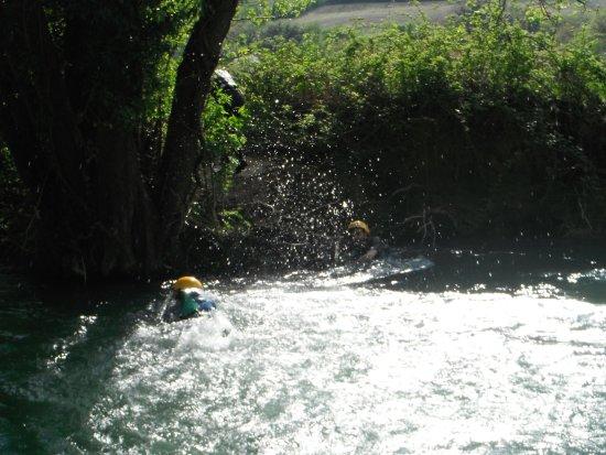 Vallo di Nera, Itália: risalita