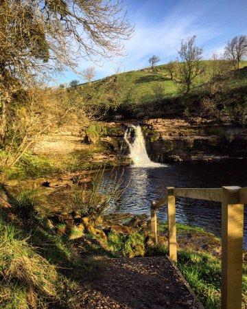 Keld, UK: Private Waterfall
