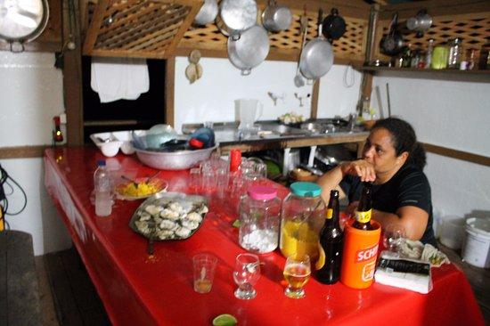 Cairu, BA: Na cozinha com a Chefa