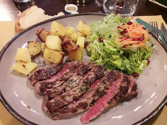 Viadana, Italy: Deliziosa tagliata