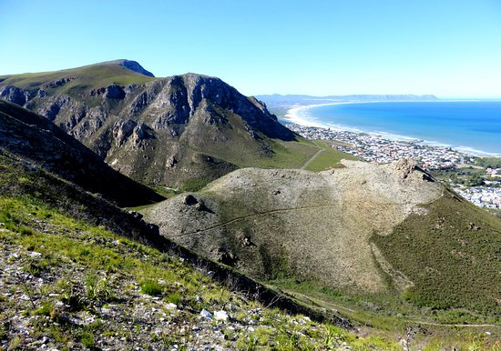 Hermanus, Sør-Afrika: Great views across Walker Bay