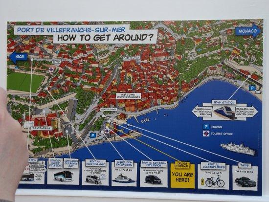 Old Harbor (La Darse): карта города