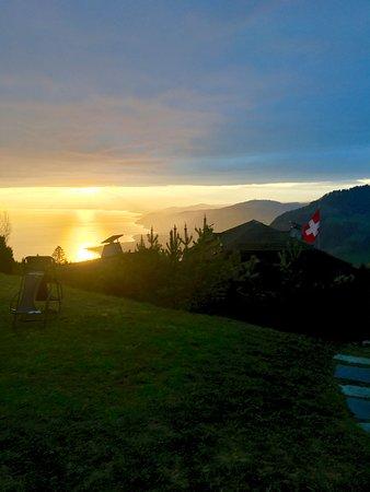 Caux, Switzerland: Vue depuis la terrasse