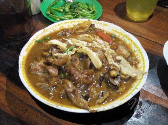 tongseng kambing - Picture of Sate Klathak Mas Bari ...