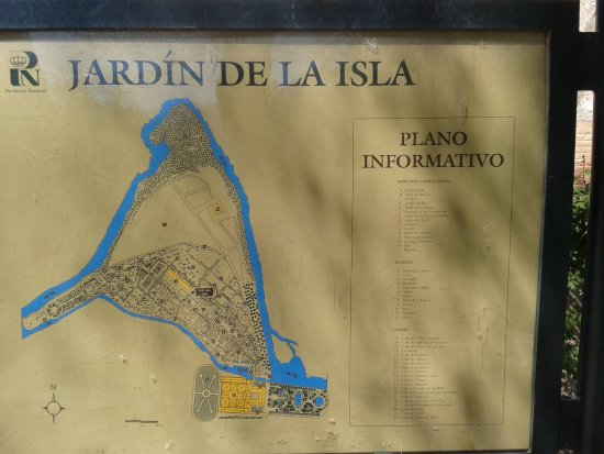 Aranjuez, สเปน: MAPA DEL RECORRIDO