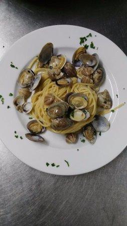 Castiglione in Teverina, Italia: Spaghetti alle vongole