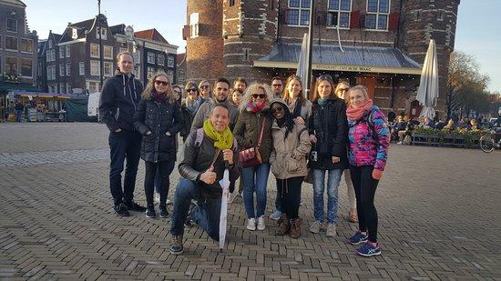 Free walking tour Amsterdam nieuwmarkt