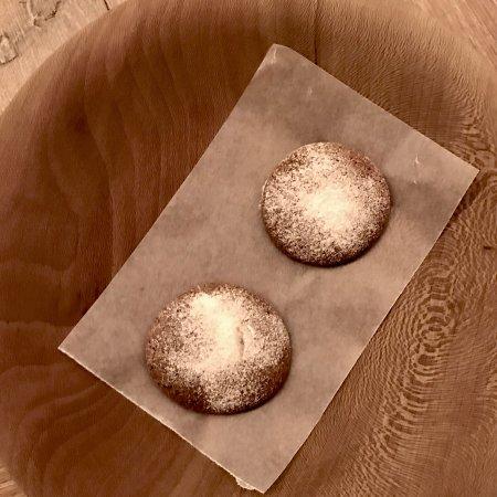 Sankt Andrä im Sausal, Österreich: Fluffy Minikuchen zum Kaffee