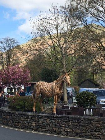 The Little Inn at Grasmere: The little Inn's Horse!