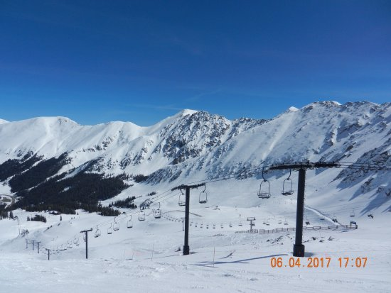 Keystone, CO: General View of A Basin