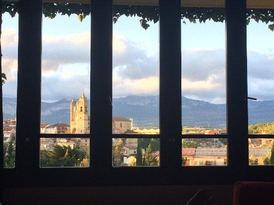 Vue sur el ciego depuis les chambres c t spa picture of for Hotel el ciego marques de riscal