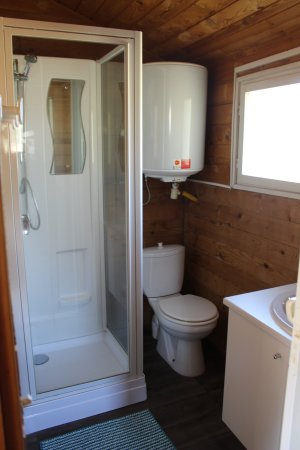 Camping Les Oliviers : Douche / WC