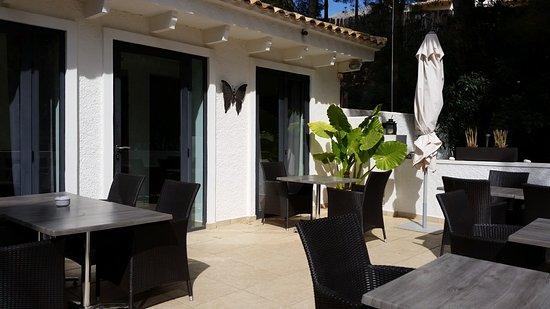 Altea la Vella, สเปน: restaurant area