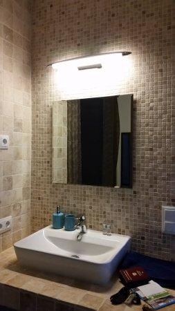 Altea la Vella, สเปน: Bath room