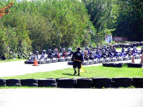 Chateau Richer, Canada: Courses de SWS en kart de location chez KCR Karting Quebec