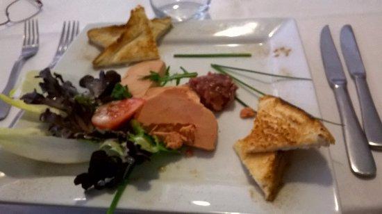 Cloyes-sur-le-Loir, France : Foie gras maison