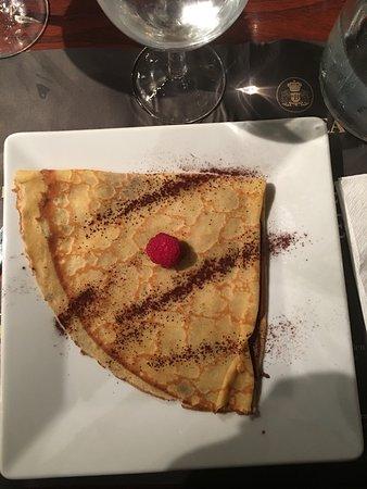 Cabries, France: crêpe au nutella