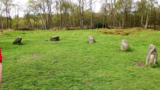 Matlock, UK: Nine ladies stone circle