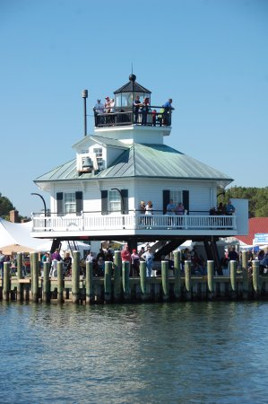 Saint Michaels, MD: Climb to the top of the lighthouse for spectacular views