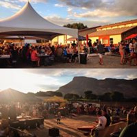 Palisade, Kolorado: Food Truck Fridays at Red Fox Cellars