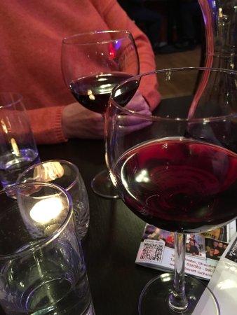Ostseebad Baabe, Germany: Wein für die Veranstaltung