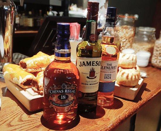 Whisky at The Britannia
