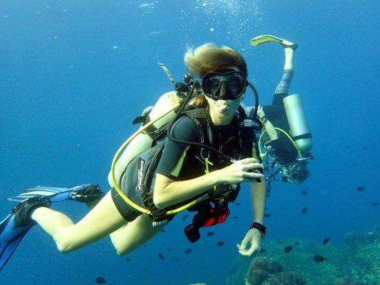Kadena-cho, Japan: Instrutora Andréa  - Aloha Divers Okinawa