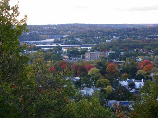 View of Troy and Cohoes