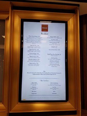 Ист Элмхерст, Нью-Йорк: the menu